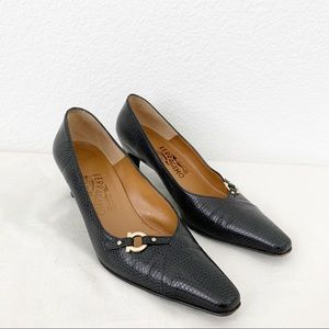 Salvatore Ferragamo Classic Leather Pumps Heels